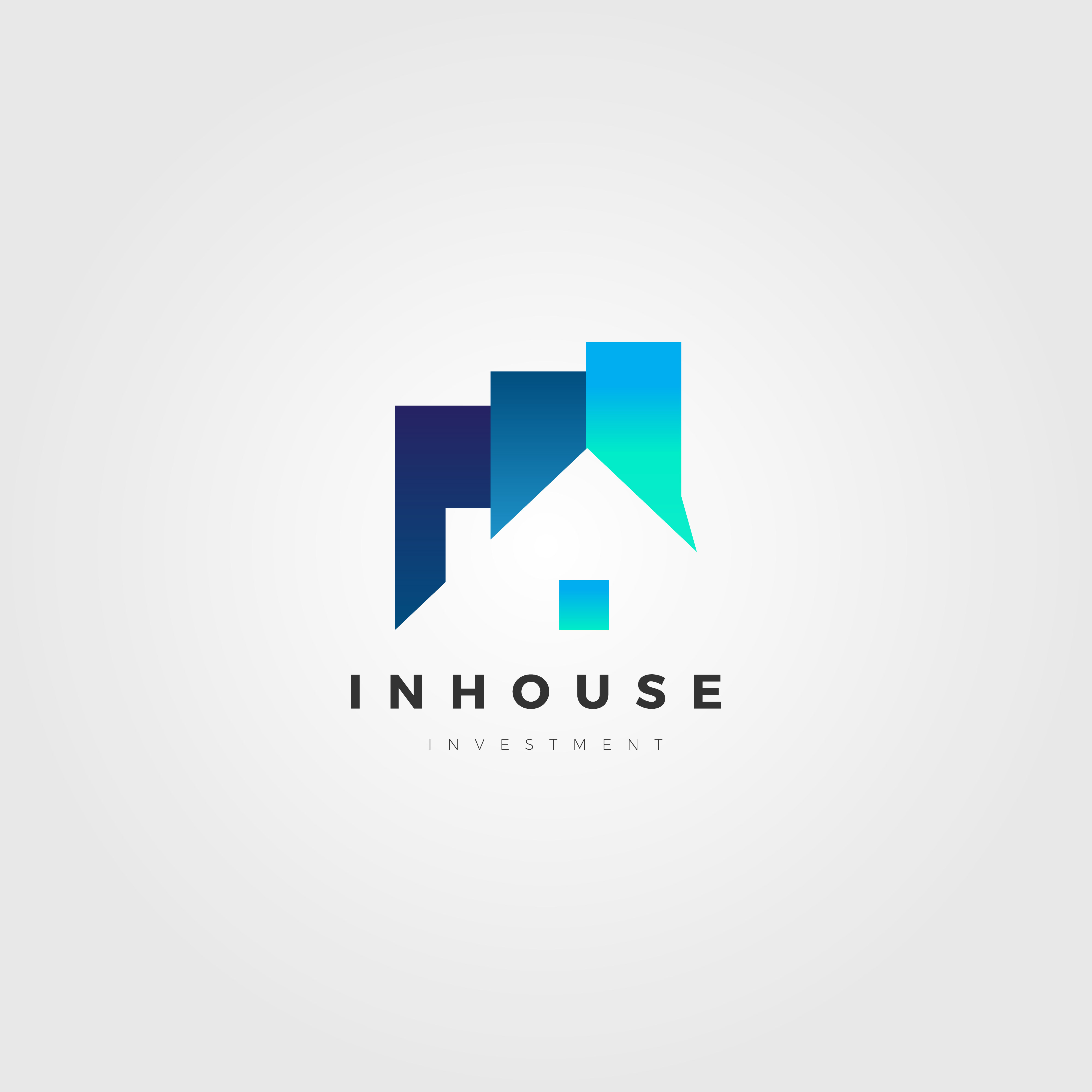 Property House Investment Company Business Logo Template