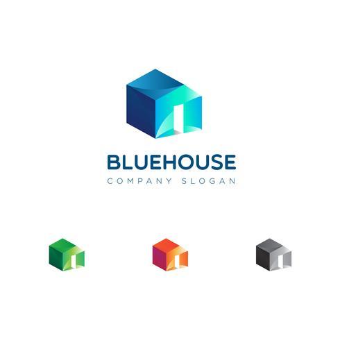 Einfaches Haus Eigentum Logo Sign Symbol Icon