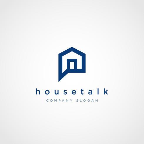 Icona di simbolo del segno di Logo della proprietà di conversazione della Camera di colloquio della bolla