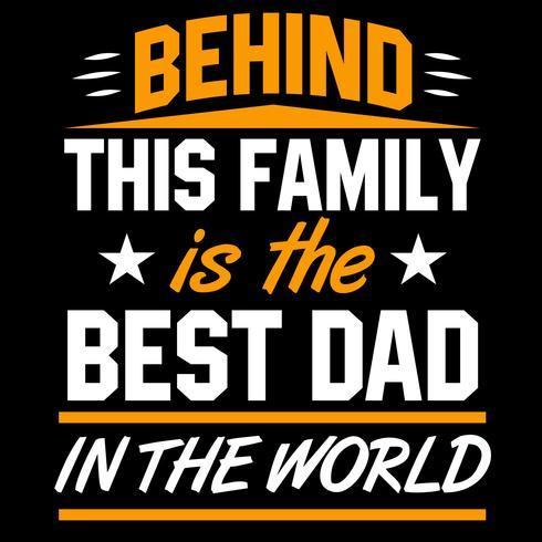 Detrás de esta familia está el mejor papá del mundo