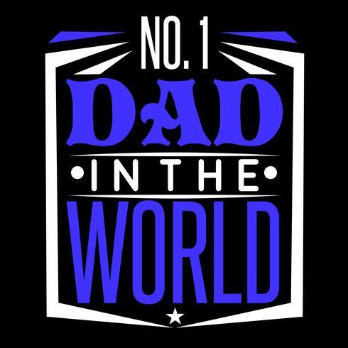 Nummer 1 pappa i världen