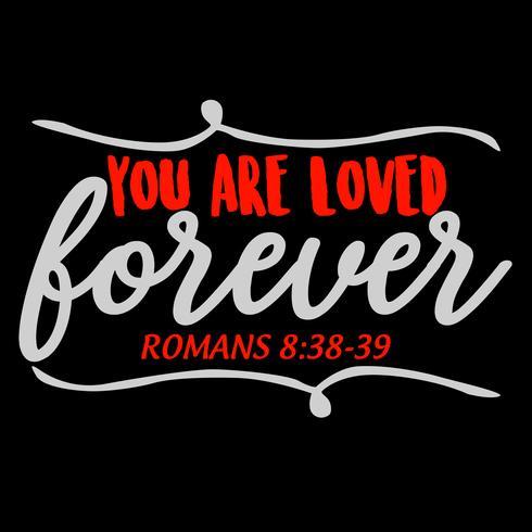 Eres amado por siempre