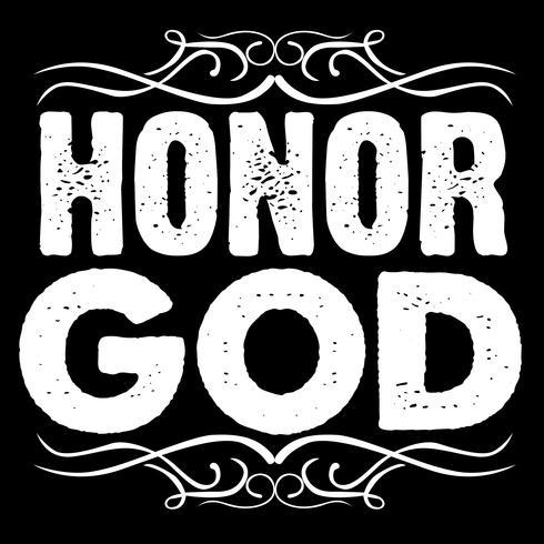 Onore a Dio Tipografia Art