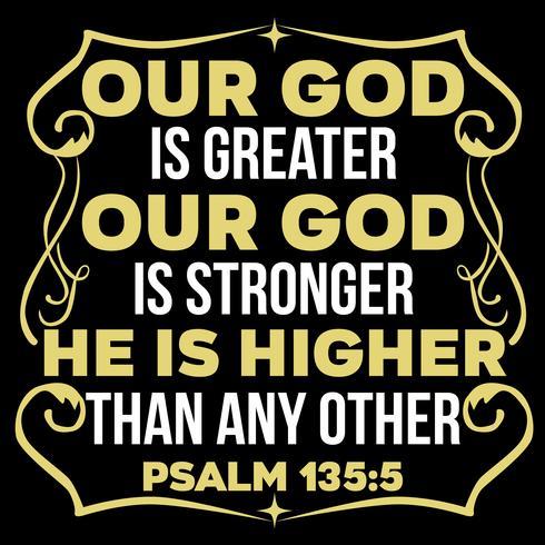 Il nostro Dio è più grande