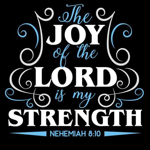 De vreugde van de Heer is mijn kracht