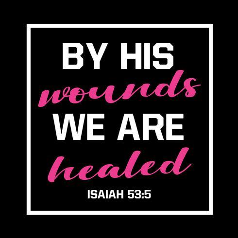 Genom hans sår är vi botade