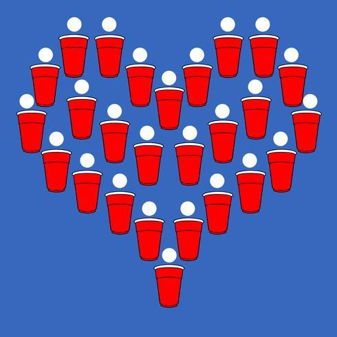 Cerveja Pong Coração
