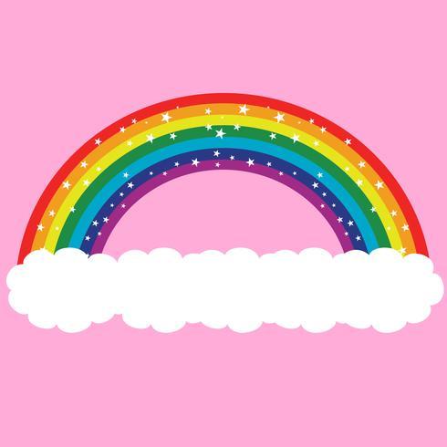 Diseño del vector del arco iris