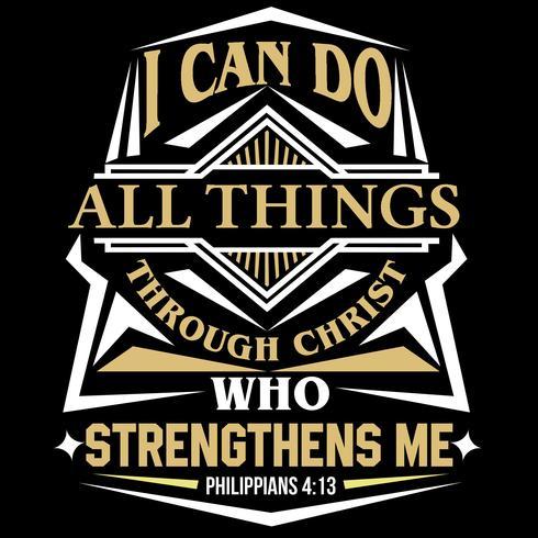 Ich kann alles durch Christus tun, der mich stärkt
