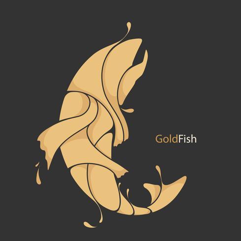 Fisch Splash Silhouette