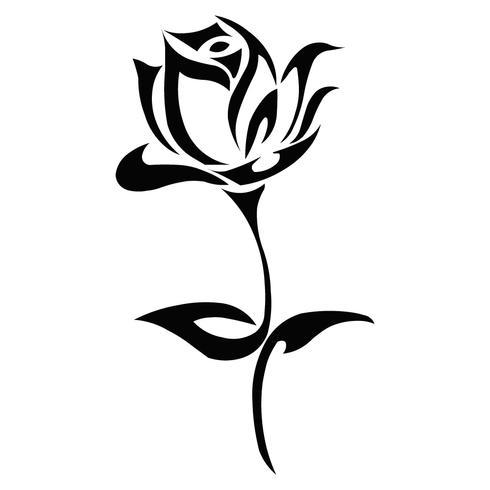 Una rosa diminuta