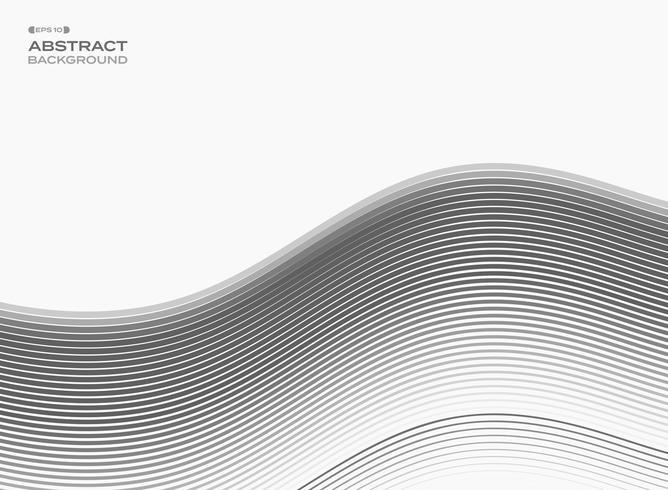 Resumen de la línea gris libre patrón de fondo.