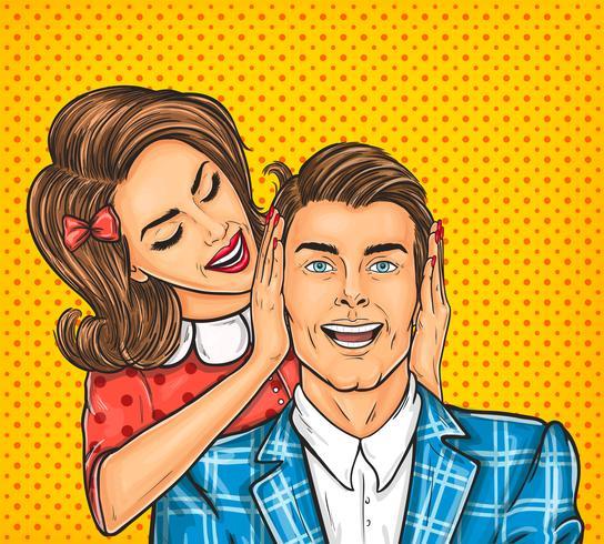 De dichte oren van de vrouw aan de haar man