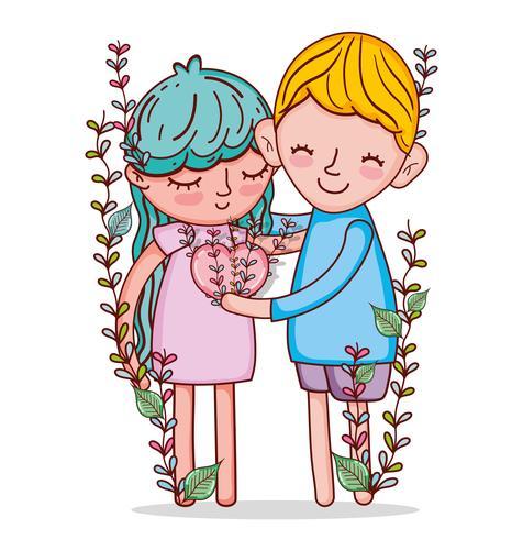 Les enfants et l'amour
