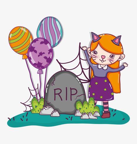Halloween söta teckningar