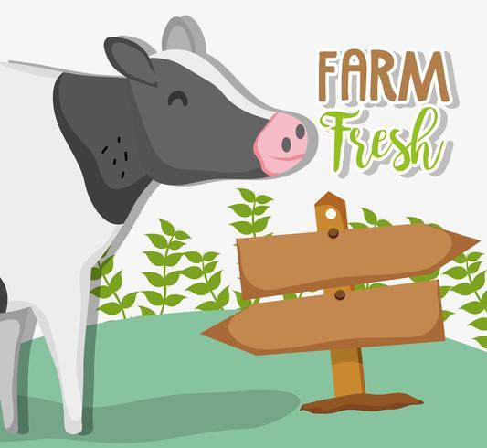Farm färska teckningar
