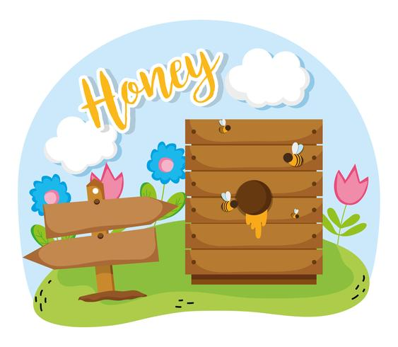 Farm fresh honey