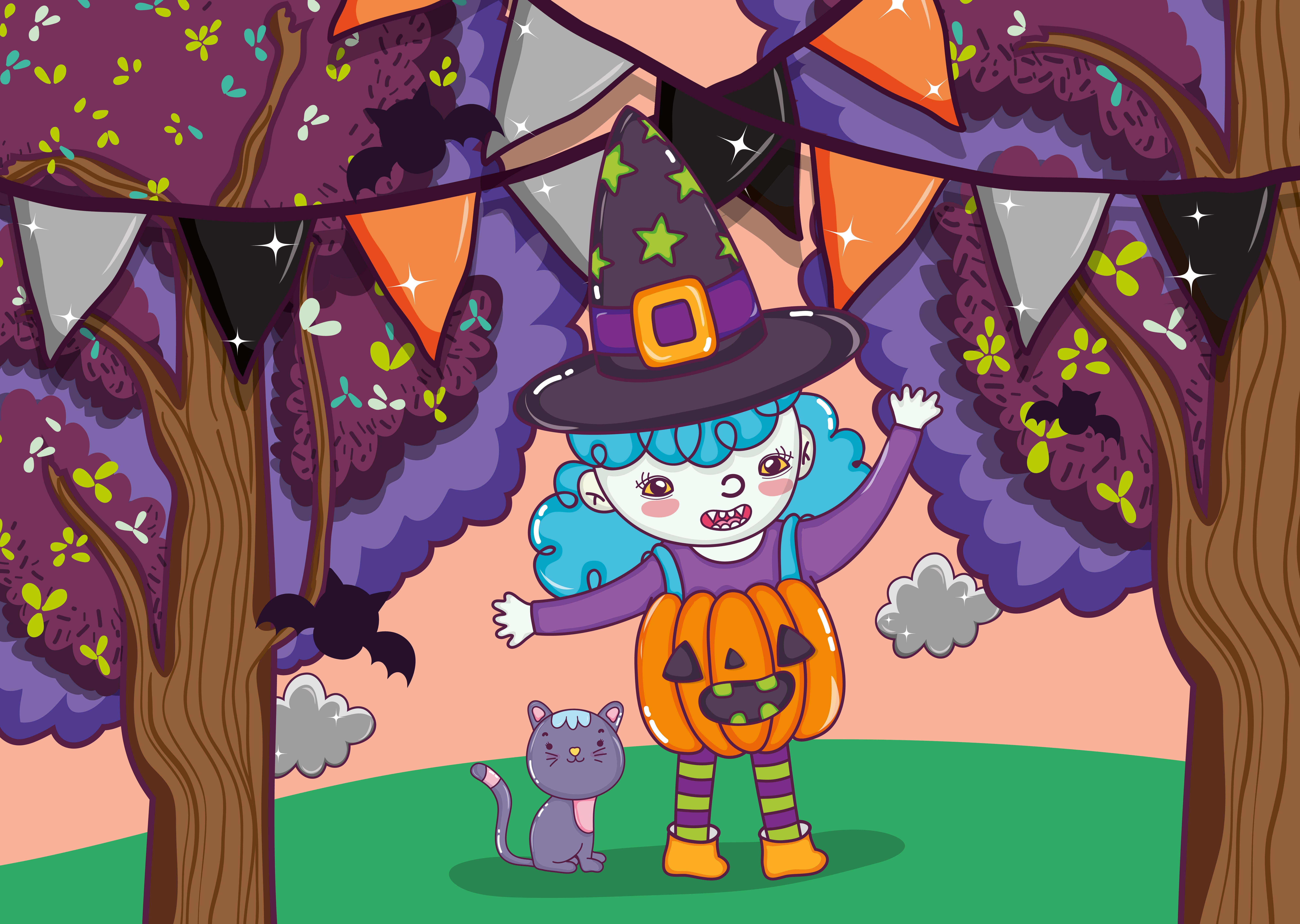 女巫卡通 免費下載   天天瘋後製