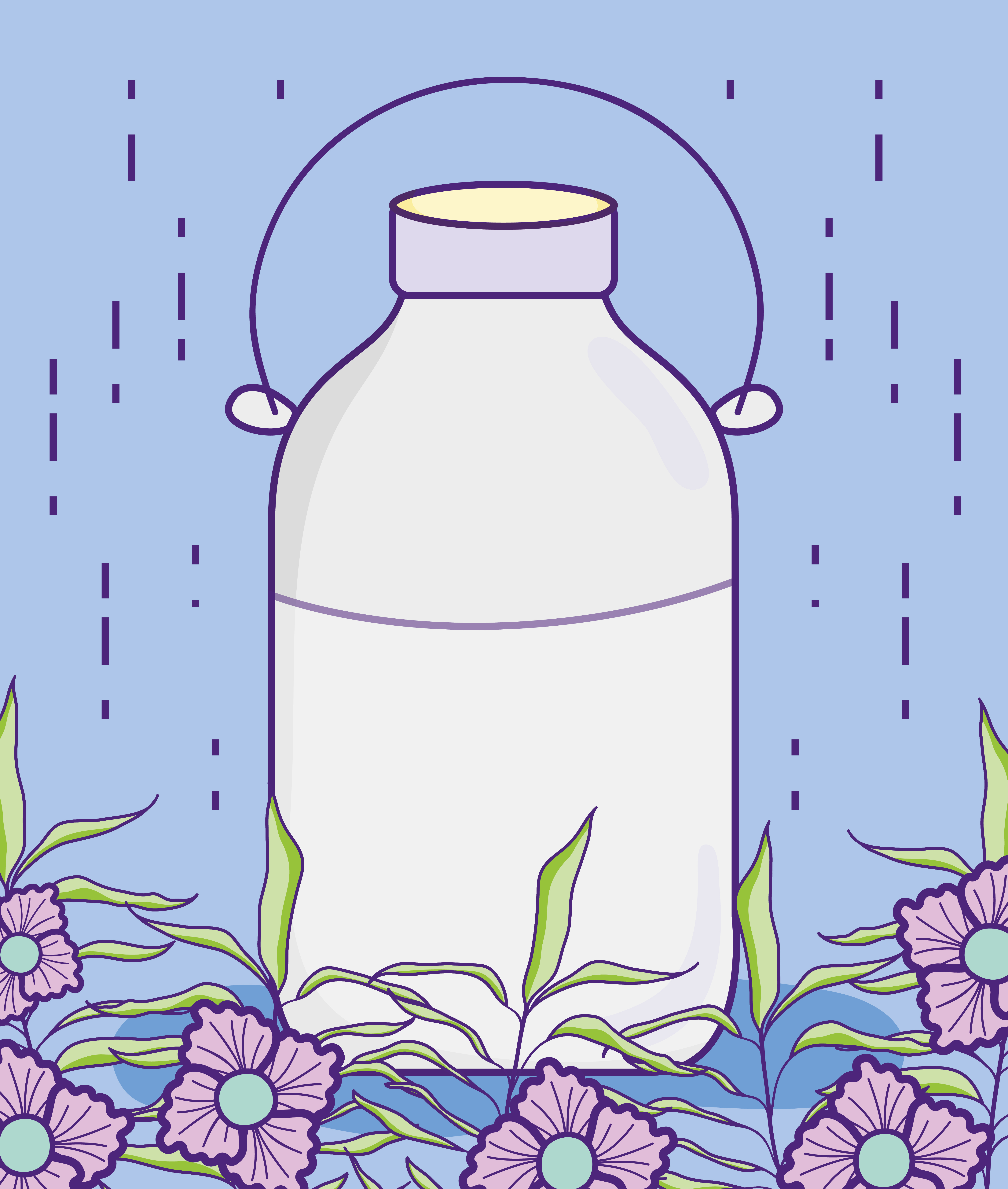 Mason jar with flowers - Download Free Vectors, Clipart ...