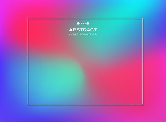 Resumen de gradiente de colores de fondo, vector