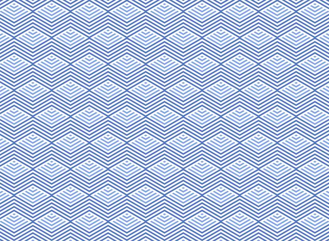 Abstract aqua marine blue water geometric triangle pattern background.