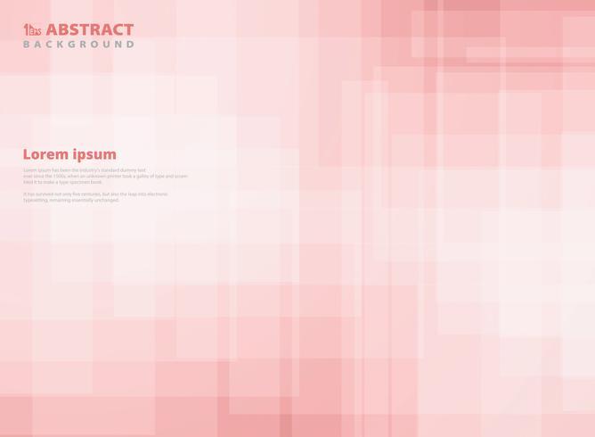 Fundo abstrato do teste padrão do quadrado do rosa do inclinação. Você pode usar para design de papel, anúncio, cartaz, impressão, capa. vetor