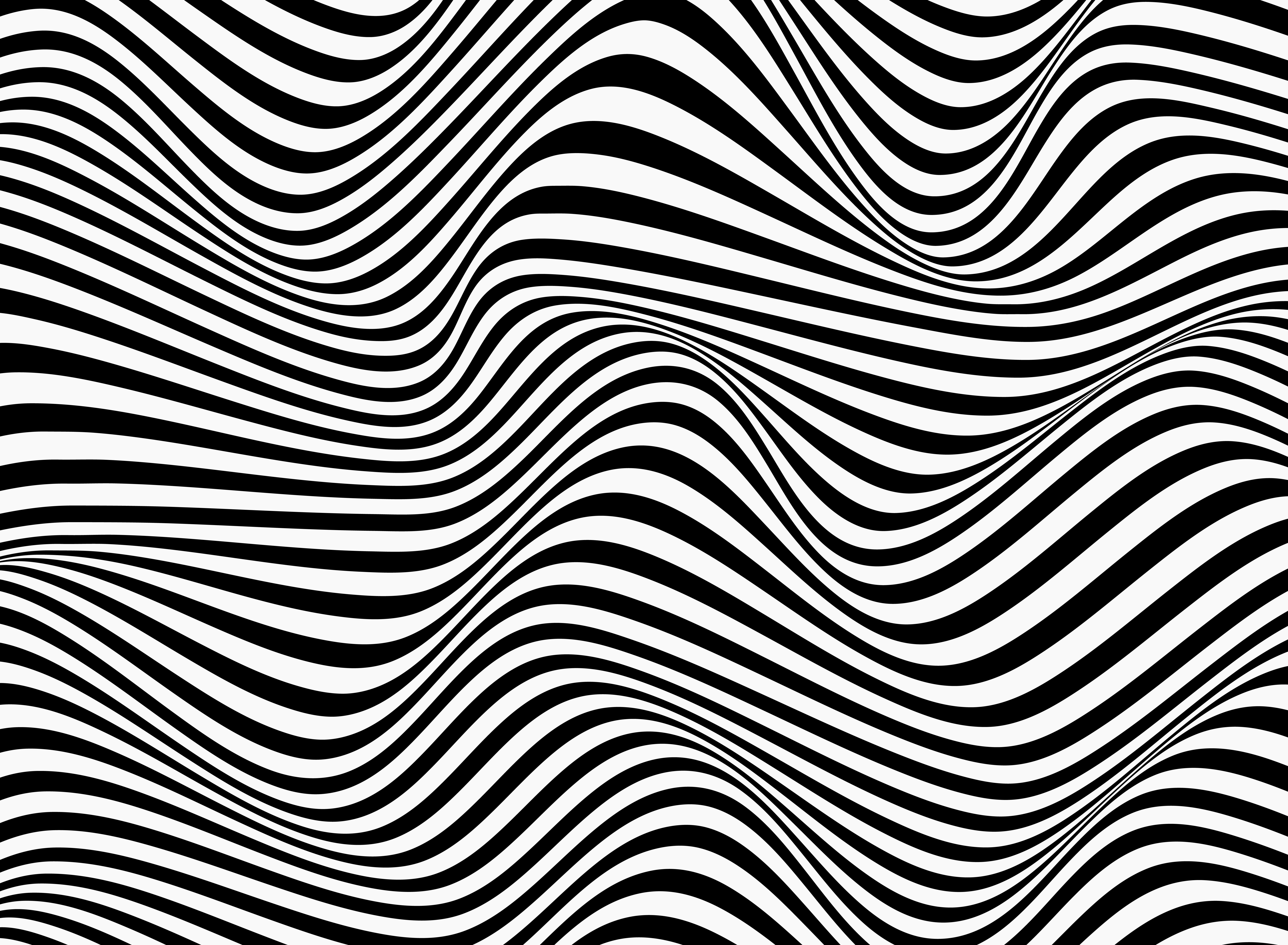 Abstract background of black and white stripe line pattern ...