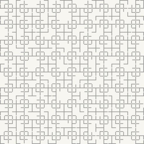 Style abstrait motif géométrique carré. vecteur