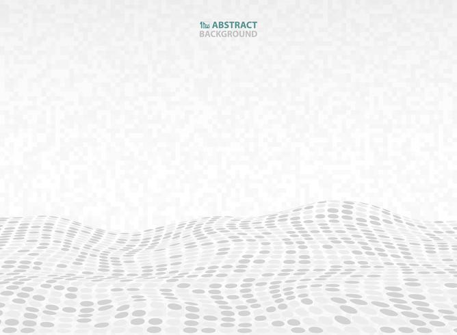 Abstrakt teknologi grått mönster kvadratisk design dekoration bakgrund. illustration vektor eps10