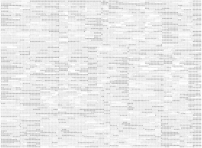 Modélisme abstrait de petits pois noirs sur fond blanc. illustration vectorielle eps10