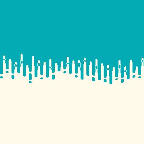 Streifenlinie Abdeckungs-Dekorationshintergrund der abstrakten Vektormasche blauer. Abbildung Vektor eps10