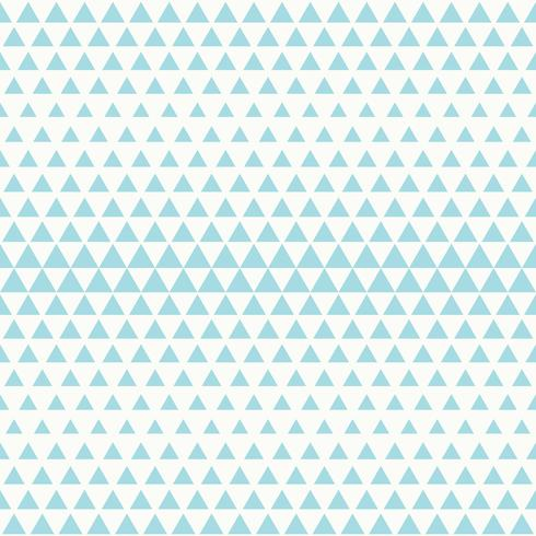Abstract tech blue triangle pattern seamless design on white background vector. illustration vector eps10