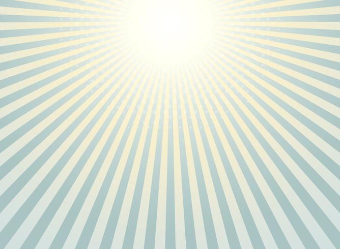 Abstracte zonnestraal achtergrondwijnoogst van halftone patroonontwerp. vector