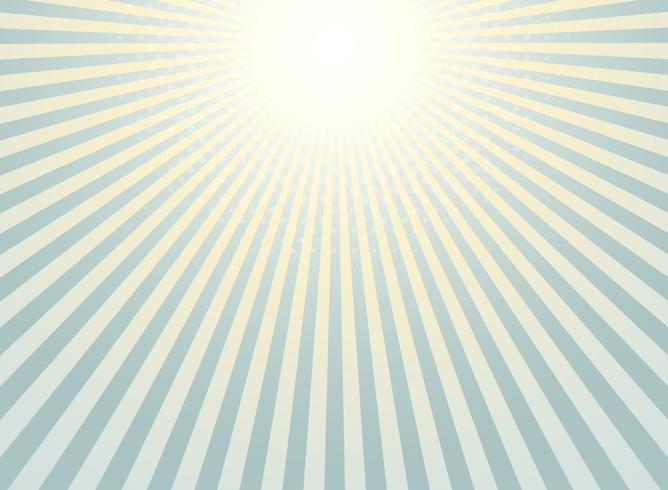 Abstract sunburst background vintage of halftone pattern design.