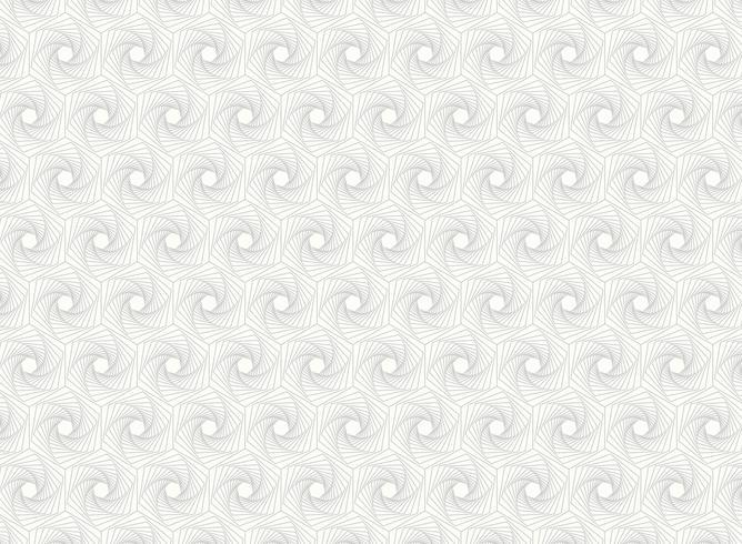 O hexágono abstrato detalha a linha detalhes do teste padrão da arte.
