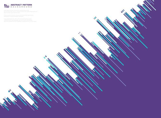 Abstract purple vector stripe line pattern design technology background. illustration vector eps10