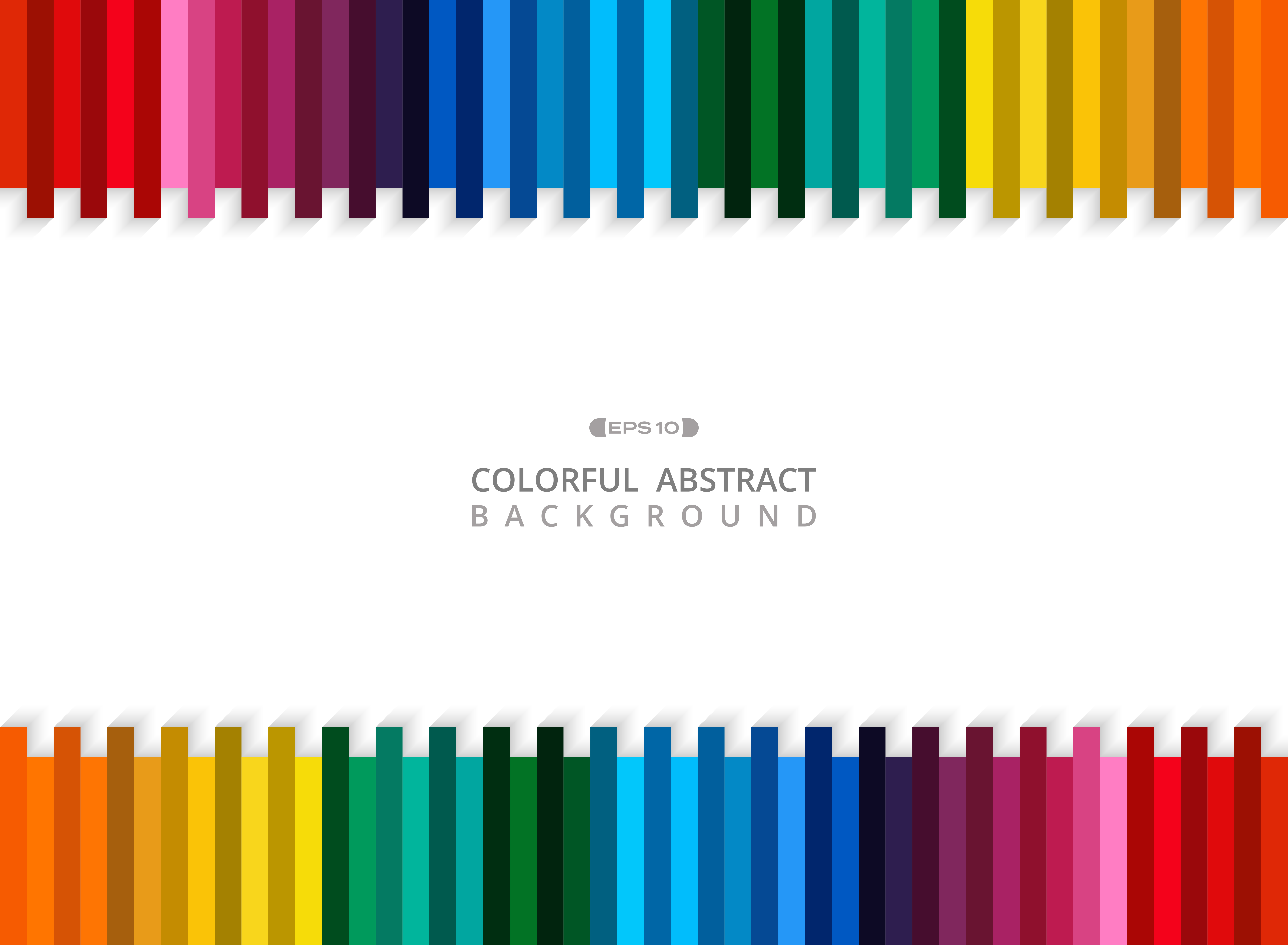 Abstract of colorful stripe line background with copy ...