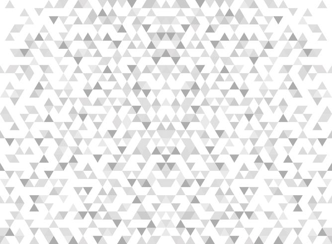 Abstract modern triangle pattern gradient gray background.  vector