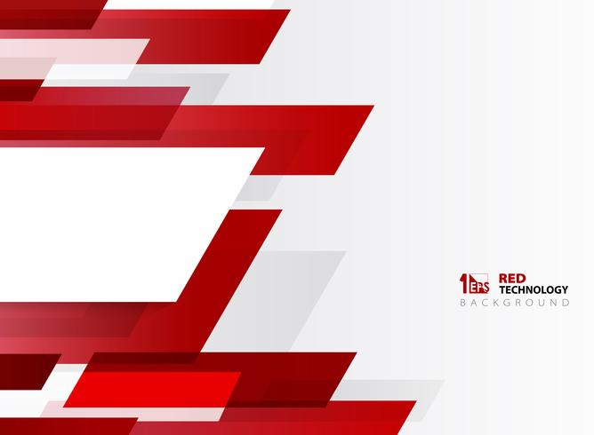Abstract technology gradient red stripe line pattern with white background. You can use for poster, brochure, modern artwork, annual report.  vector