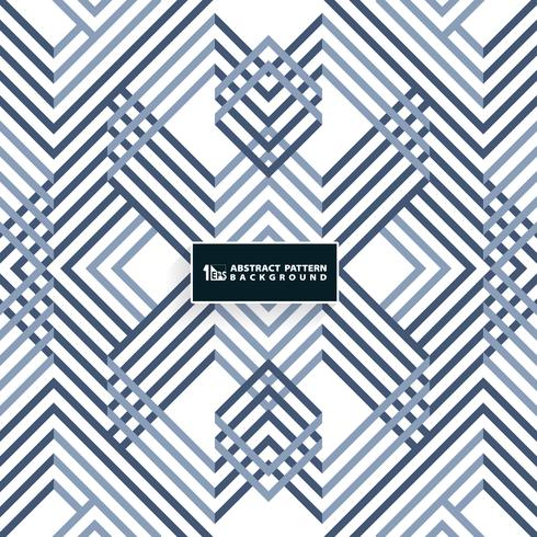 Abstract systematic geometrical blue pattern design. You can use for cover design, modern artwork, print, ad, report. vector