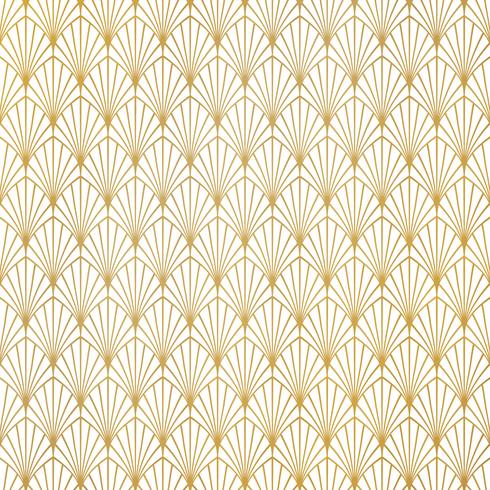 Abstract gold art deco pattern luxury design background. You can use for premium background, ad, poster, cover design, presentation.  vector