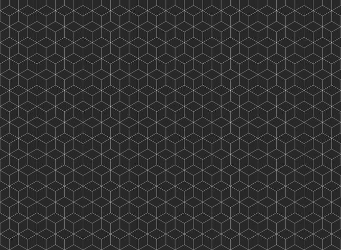 Sammanfattning av femkantiga formmönster bakgrund.