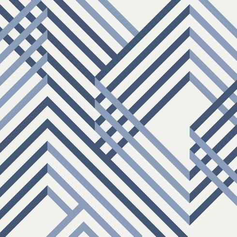 Extracto del diseño azul geométrico del modelo. vector