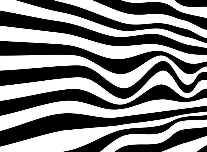 Noir et blanc de fond abstrait de passage pour piétons opart.