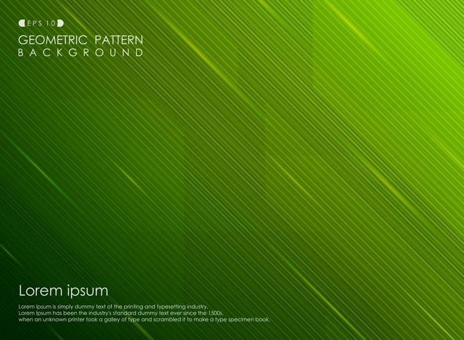Abstract background gradient green stripe line design business.