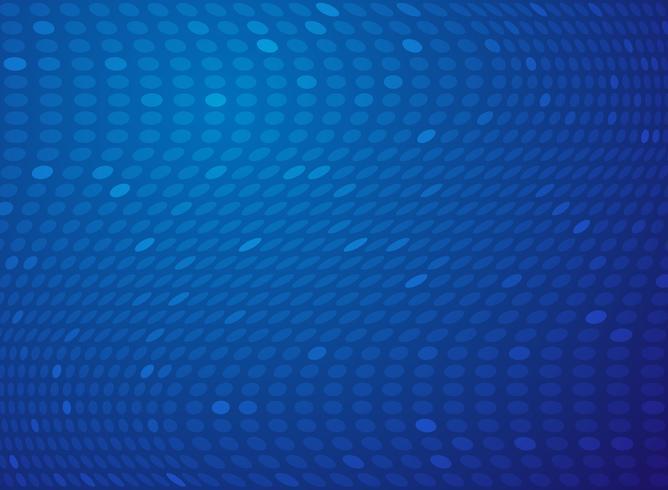 Abstracte gradiënt blauwe stip mesh technische achtergrond. vector
