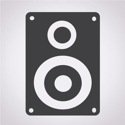 Luidsprekers pictogram vector