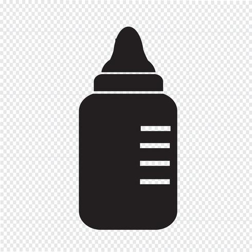 icona di bottiglia di latte per bambini