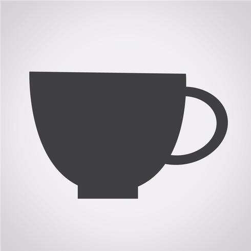 Icono de la taza símbolo de signo
