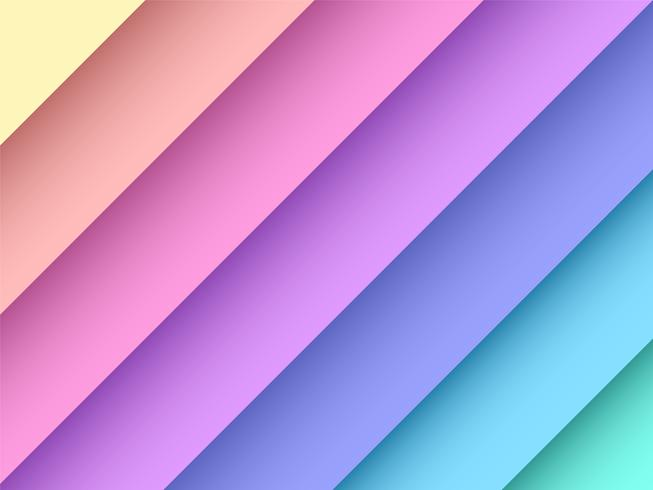 Fondo de vector de arco iris pastel